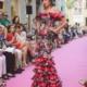 Pasarela Thyssen Malaga Traje Esclusivo De Susana Zamora El Dedal de Micaela. Corona de Flores Susana Zamora Pendientes Sentirse Flamenca
