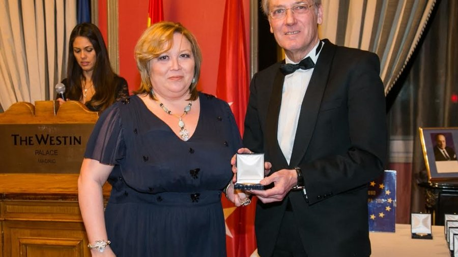 Medalla Foro Europa 2017 20 de enero (2)