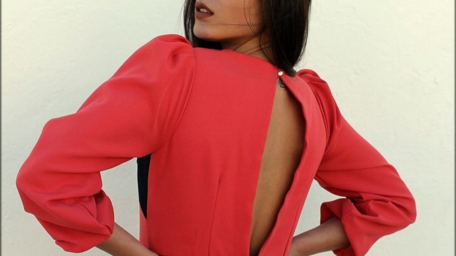 Traje Coral Susana Zamora