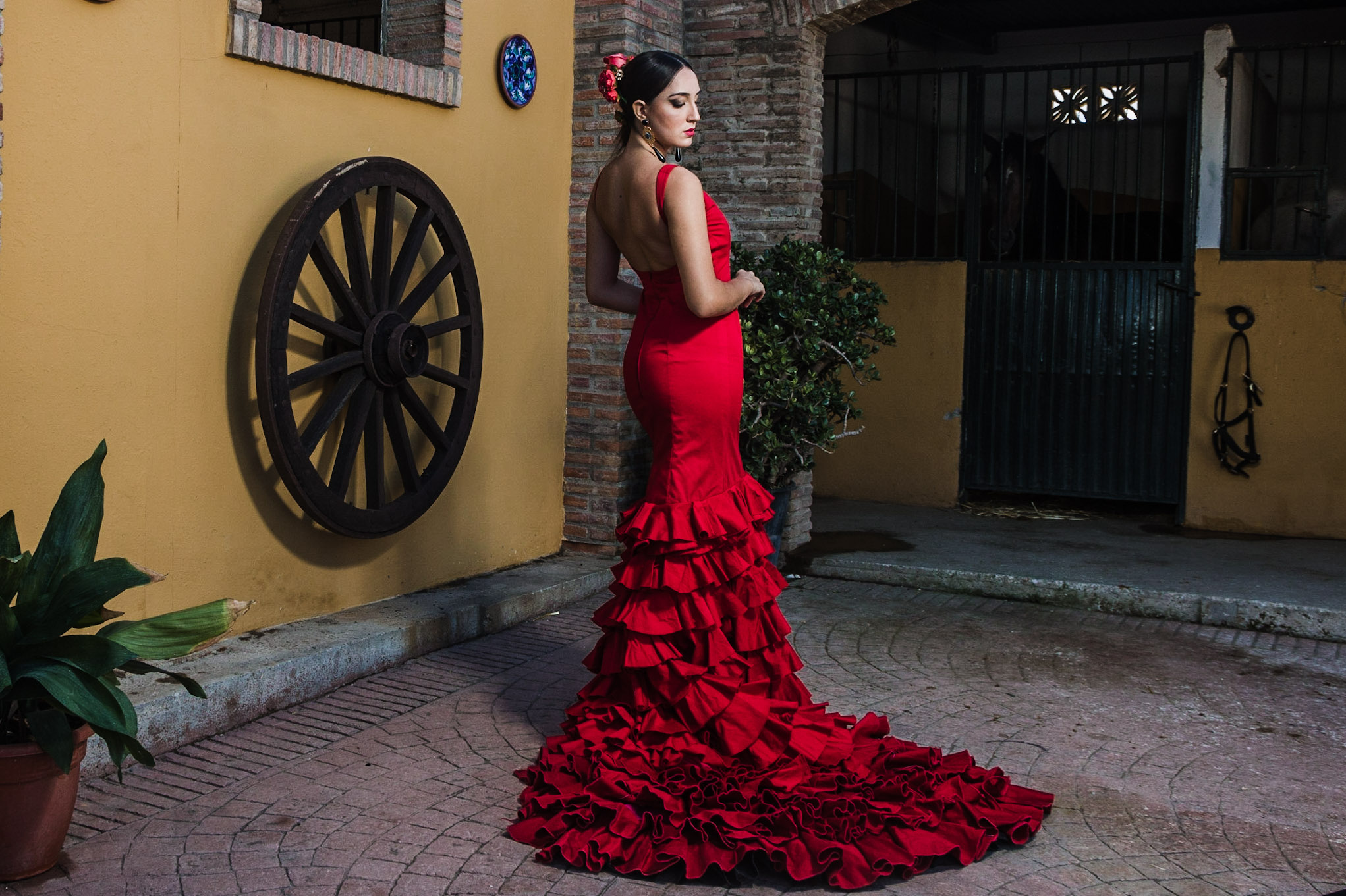 vestuario- amazonas- ecuestre- trajes de flamenca- montar a acaballo (29)